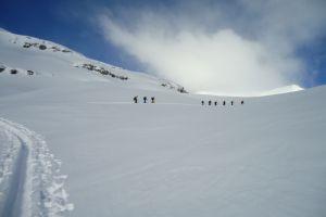 Esquí de travesiá en Canadá : Icefall lodge